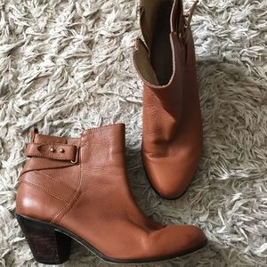 Leather Booties sz 8m